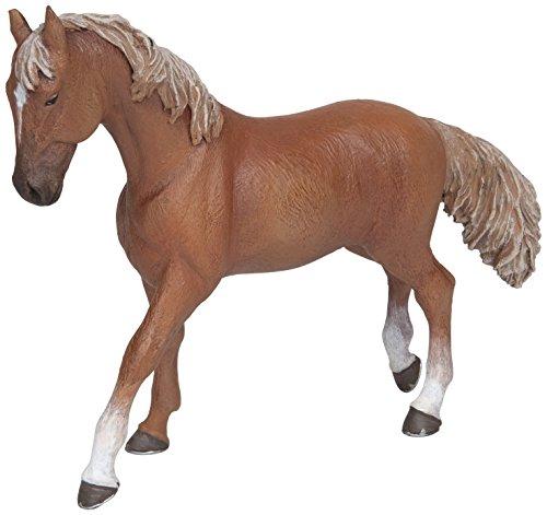 Papo 51533 Pferde, FOHLEN UND PONYS Anglo-Araber Stute rotbraun, Mehrfarben