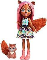 Questa adorabile bambola da 15 cm e il suo tenero amico cucciolo si ispirano al mondo delle Enchantimals, un luogo fantastico immerso nella natura Sancha lo Scoiattolo è accompagnata dal suo cucciolo Stumper -- con una tenera coda di pelo La bambola...