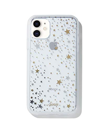 Sonix Starry Night Case for iPhone 11 [10ft Drop Tested] Protective Gold Silver Stars Clear Case for Apple iPhone 11