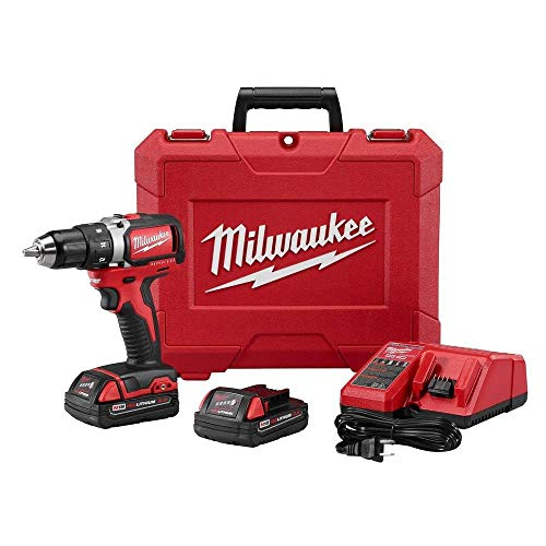 Milwaukee 270122CT M18 1/2quot Compact Brushless Drill/Driver Kit