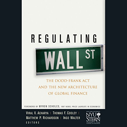 Regulating Wall Street audiobook cover art