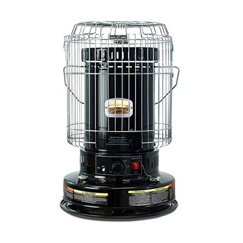 UTY 23,800 BTU Convection Kerosene Heater for Home and Camping, Indoor Space Heaters