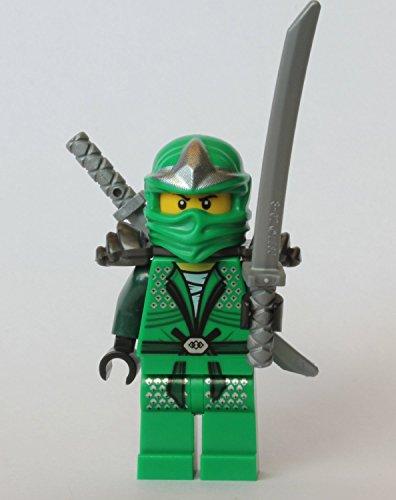 LEGO Ninjago Lloyd ZX (Green Ninja) with Armor and...