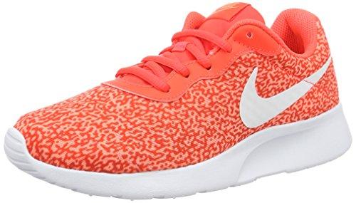 Nike 820201-600, Zapatillas de Deporte Mujer, Naranja (Bright Crimson/Bright Crimson), 36 EU