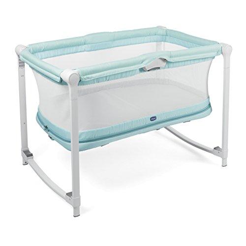 Chicco 05079554110000 Zip&Go Culla Bambini, 0-24 mesi, Blu (Aquarelle)