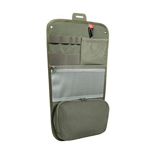 Tasmanian Tiger TT Organizer Panel Einschub für Rucksäcke mit vielen Taschen für Werkzeug, Schreibzeug, EDC, kompatibel mit TT Essential Pack L, TT SW Pack 25 und Daypack L, 13 x 8 cm, Oliv