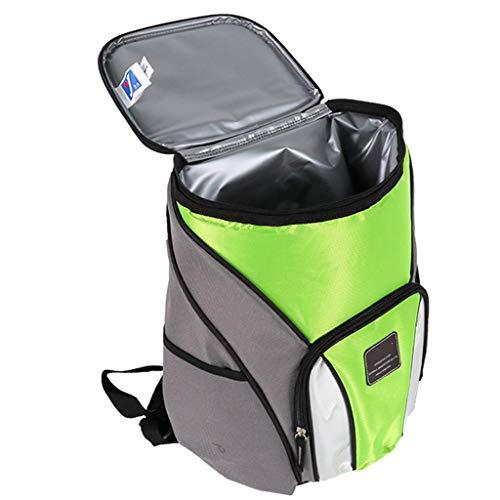 WERT Oxford Cloth Picknickrucksäcke Leichter Kühltaschenrucksack für Camping Fishing Barbecues Bag,Green