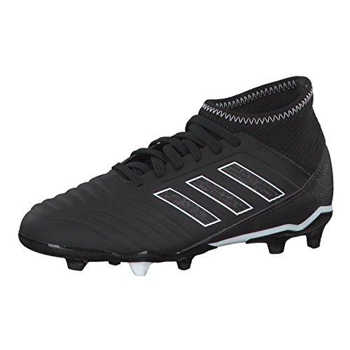 adidas Predator 18.3 FG, Zapatillas de Fútbol Unisex Niños, Negro (Cblack/Cblack/Ftwwht Cblack/Cblack/Ftwwht), 28.5 EU