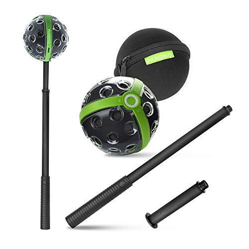 PANONO - Kit completo per fotocamera a 360 gradi + stick + adattatore + custodia – Panorama
