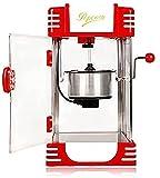 Máquina automática de Palomitas de maíz Máquina de maíz eléctrica de Gran Capacidad Hacer (Size : 110V)