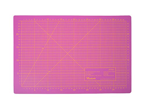 Victor - Esterilla de corte autorreparable de 3 capas en diferentes tamaños y colores
