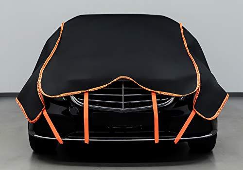 Hail Protector Car Cover for Sedan Limousine - 6mm Strong Guarding for External Factors Hail, Storm, Stone, Snow 500x300cm Dims