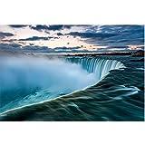Niagara Falls Art Landscape Impreso en lienzo para la decoración del hogar 20x30cm