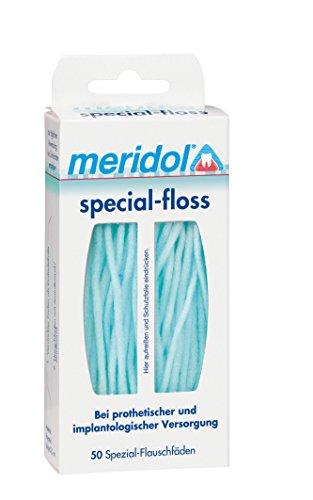 meridol special - floss - Flauschfäden, 1er Pack (1 x 50 Stück)