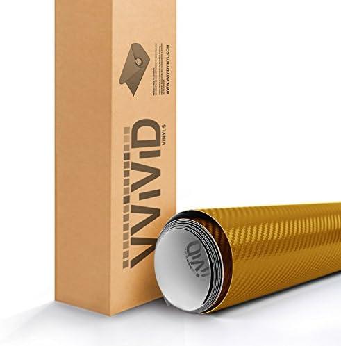 Gold carbon fiber wrap