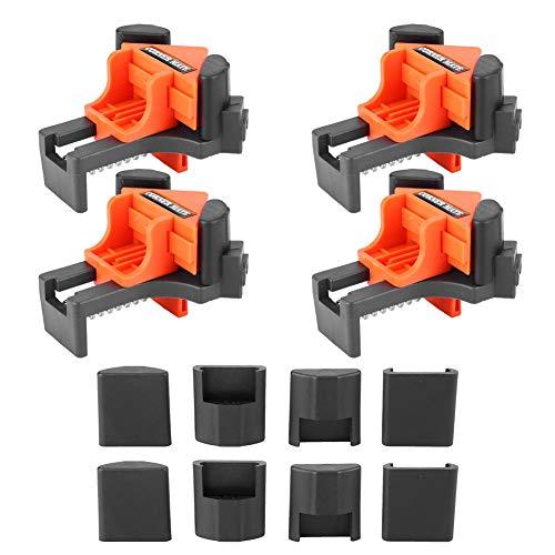 4 Unids Multi Funcional 90 Grados Ángulo Recto Esquina Abrazadera Ajustable Swing Clip Holder Herramienta de Carpintería
