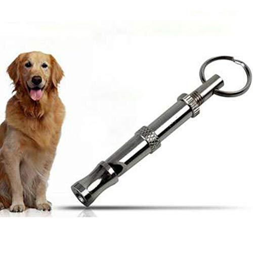 Jamisonme Sound Dog Whistle to Stop Barking, Herramienta de Entrenamiento ultrasónico de Tono Ajustable Silent Bark Control para Perros (Color de la Imagen)