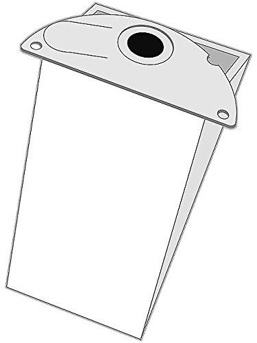 5 bolsas de aspiradora K 254 apta para Kärcher 6.904 – 167, Kärcher 2101, Kärcher 2101 Te, Kärcher 2111, Kärcher 2301, Kärcher 4000 Plus, Kärcher 4000 TE, Hoover Aqua 15, S5 125, Hoover 33