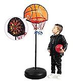 Chunlan Kinder-Basketball Rack-Game Set, Basketball Brett Dart Board 2-In-1 Abhebbarer Spielzeug,...