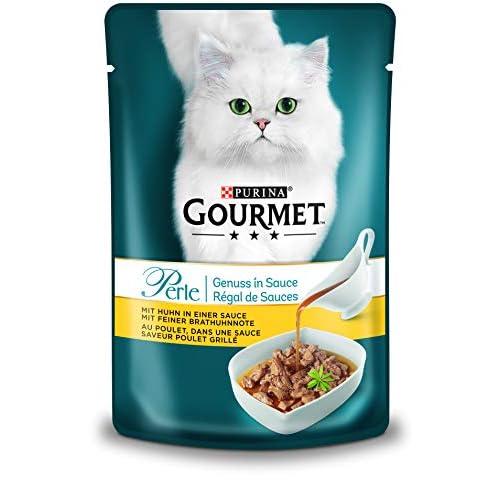 Purina Gourmet - Cibo Umido per Gatti Perle, Diverse varietà, Confezione da 24 x 85 g