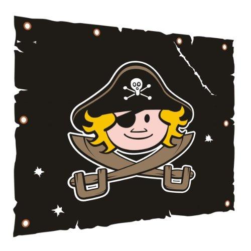 WICKEY Flagge/Segel Pirat 105x96cm