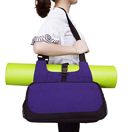 Rysmliuhan Shop Funda Esterilla Yoga Bolsa Yoga Esterilla Yoga Mat Bolsa Grande Yoga Cubierta de la Bolsa Juego de esteras y Bolsas de Yoga Purple,-
