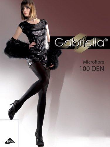 Gabriella Blickdichte Strumpfhosen Bunte Feinstrumpfhose Microfaser 100 DEN - Ideal für kalte Tage