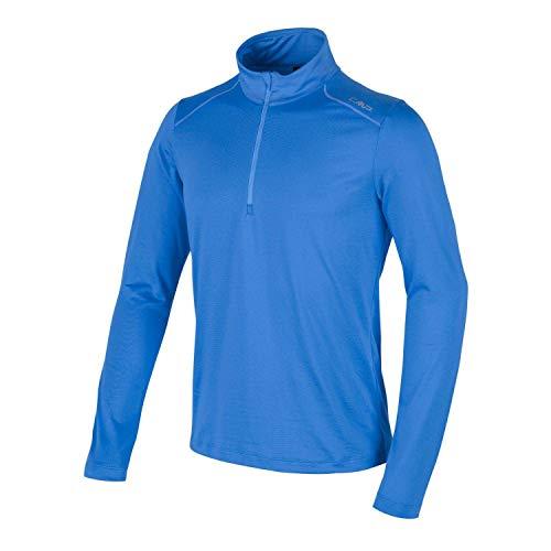 CMP T-Shirt Manches Longues Fonctionnel en Polaire pour Homme XXXXL Bleu Roi