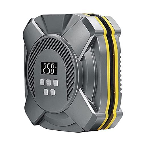 Compresor de Aire 220v Inflador De Neumáticos Portátil, Bomba De Aire De Doble Uso Digital Eléctrico para El Hogar Y El Automóvil, La Bomba De Aire Eléctrica Cap(Size:25 Cylinder,Color:Touch Models)
