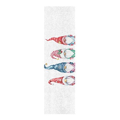 Hoja de cinta de agarre para monopatín, 33 x 9 pulgadas, bonito papel de lija de Navidad para Rollerboard Longboard Griptape Bubble Free Skate Grip Tape