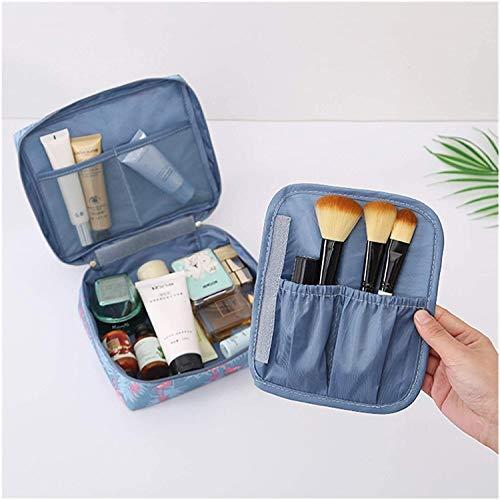 GYY Bolsa De Aseo Viajes Cosméticos Bolso Bolso Organizador Plaza Mujeres Moda Almacenamiento Impermeable Maquillaje Bolsa Trael Velcro Maquillaje Caja (Color : Ac03 1 07)