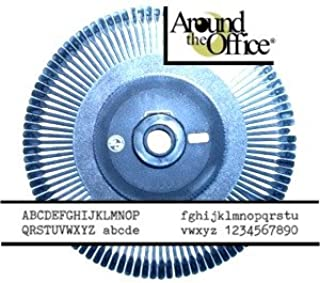 Printwheel for Royal Scriptor Typewriter Courier 10 Electronic Daisy Wheel by Around The Office