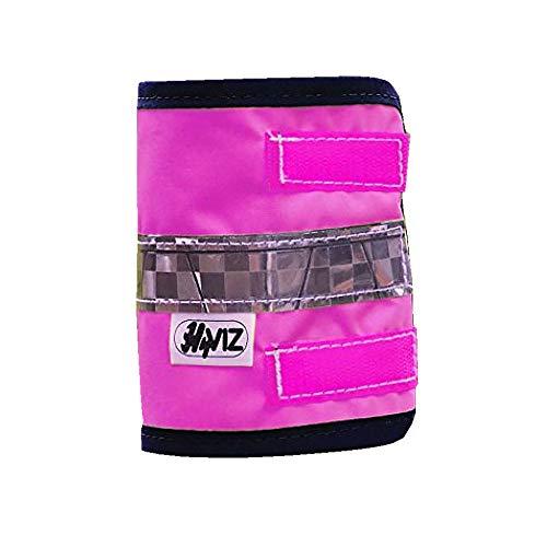 Hyviz - Coppia di Fasce per Gambe ad Alta visibilità, Colore Rosa