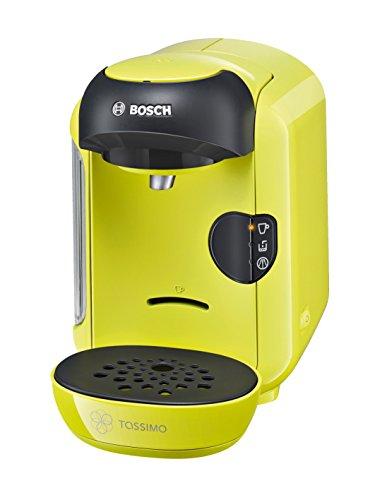 Bosch TAS1256 Tassimo Vivy Multi-Getränke-Automat 1300 W, platzsparend, große Getränkevielfalt, zitronegelb