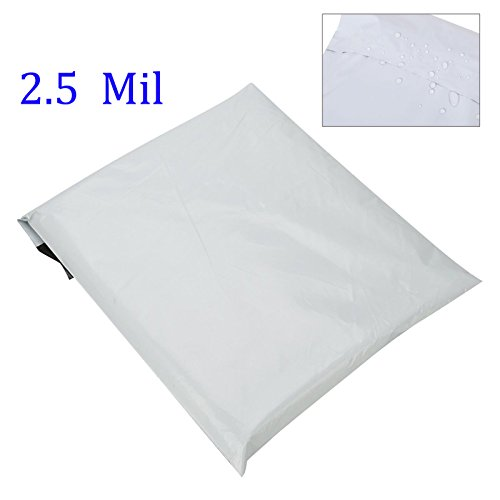 SJPACK Poly Mailers 10x13-inch 100 Bags 2.5 Mil Poly Mailers Envelopes Bags with Self-Sealing Strip White Poly Bags Photo #2