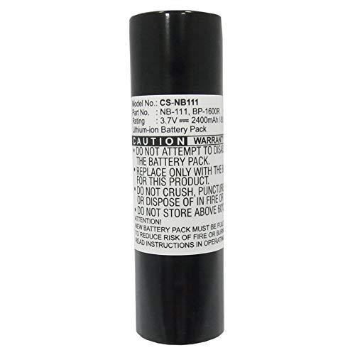 LULUVicky 2400mAh / 8,88Wh 3.7V Kamera Akku für PMD-R2 Wiederaufladbarer Ersatzakku (Farbe : Schwarz, Größe : 70.70 x 19.70 x 19.70mm)