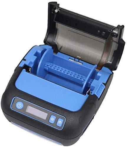 YAYY 80 mm draagbare mini-handetikettenprinter USB-thermoe-ontvanger printer oplaadbare accu hoge snelheid afdrukken compatibele druk spraakbesturingsopdrachten eenvoudig te installeren (upgrade)