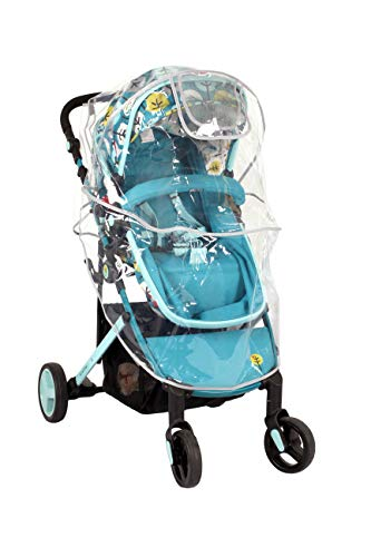 LittleLife Buggy Rain Cover Unisex-Baby, Clear