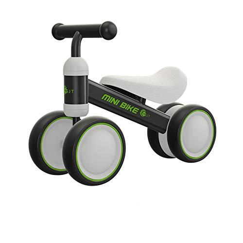 Bicicleta para bebés de 2 años con cuatro ruedas YGJT