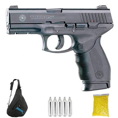 KWC Taurus PT24/7 Metal (6MM) | Pistola de Airsoft (CO2) semiautomática de Bolas Calibre 6mm. Potencia <3.5 Julios.