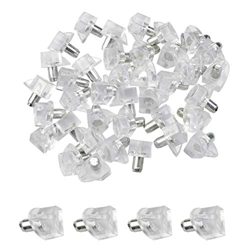 JUN -H 60 piezas de 5 mm de soporte de estante de...