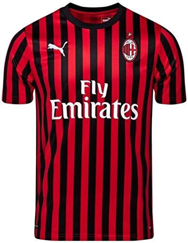 PUMA(プーマ) ACミラン ホームユニフォーム 2019/20 [21 イブラヒモビッチ] [サイズ:インポートM] AC Milan Home Shirt 2019/20 [21 IBRAHIMOVIC] [Size:Import M] [並行輸入品]