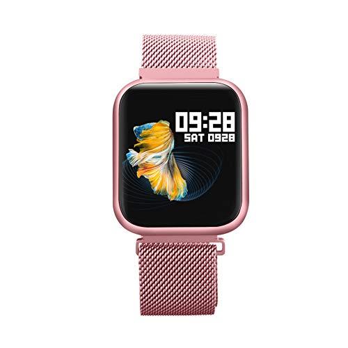 Smartwatch, Reloj Inteligente Mujer Hombre para Android iOS, Smartwatch Impermeable IP68 con Pantalla de 1,3 Pulgadas, Monitor de Frecuencia Cardíaca, Calorías, Monitor de Sueño, Podómetro