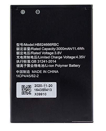 HB824666RBC バッテリー Huawei E5577 WiFi ソフトバンク Pocket WiFi 501HW 502HW の HWBBJ1 HWBBN1 HWBBK 互換 バッテリー 3.8V 3000mAh