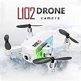 Mobiliarbus L102 Mini Drone RC avec Caméra 480P WiFi FPV Altitude Hold RC Quadricoptère pour Enfants Adultes Débutant Formation