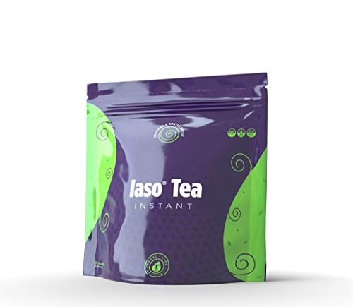 Detox products IASO Natural Detox Instant Herbal Tea – 15 Sachets Packaging