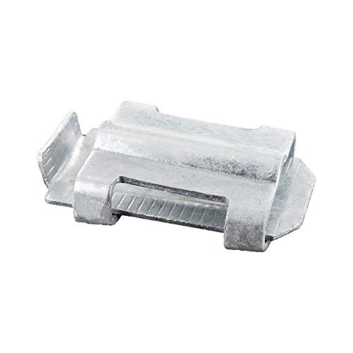 Keilverbinder verzinkt - 2 teilig - für Erdungsband bis 40 mm/Rundleiter Ø 10 mm