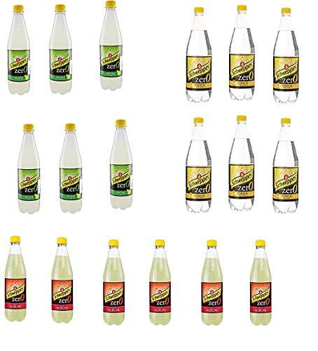Testpaket Schweppes Zero getönten ohne zucker Erfrischend 18 x 0,6l