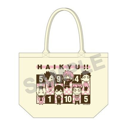 Haikyuu!! Original Exhibition Limited Tote Bag New From Japan