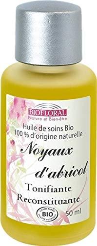 Biofloral - Noyau d'abricot - Huile végétale bio - Biofloral
